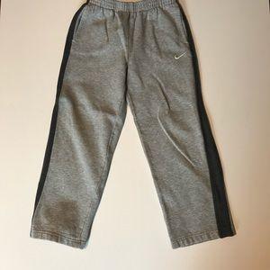 Nike Boy's Gray Sweat Pants